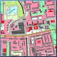 Topographische Karte 1:10 000