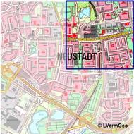 Topographische Karte 1:25 000
