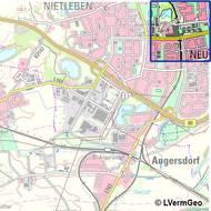 Topographische Karte 1:50 000