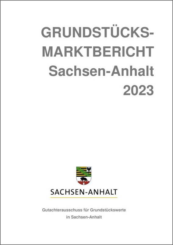 Deckblatt des Grundstücksmarktberichtes