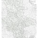 Bodenrichtwertübersichtskarte für land- und forstwirtschaftlich genutzte Flächen im Maßstab 1:250 000