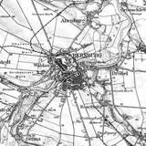 Karte des Deutschen Reiches  - Ausschnitt