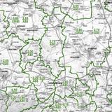 Bodenrichtwertkarte land- und forstwirtschaftlich genutzte Flächen