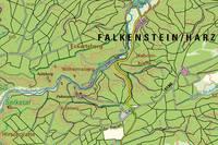 Kartenausschnitt der DTK25 4333 Königerode
