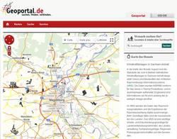 Geoportal.de - Karte des Monats Sachsen-Anhalt