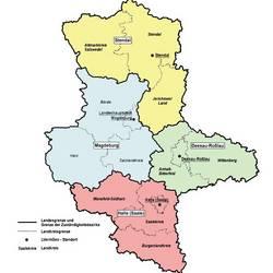 Übersicht der Zuständigkeitsbezirke