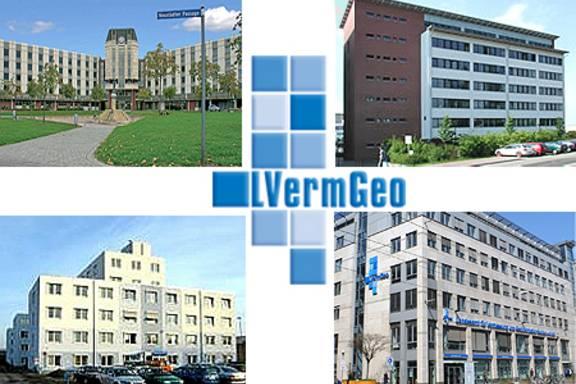 Standorte des LVermGeo