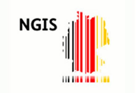 Logo der Nationalen Geoinformationsstrategie