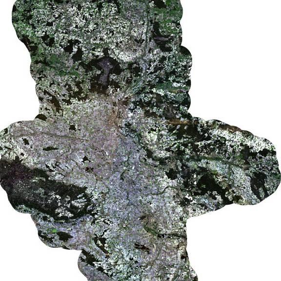 Sentinel-2 Daten als 9-Kanalbild in 20m Auflösung