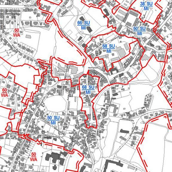 Bodenrichtwertkarte Bauland